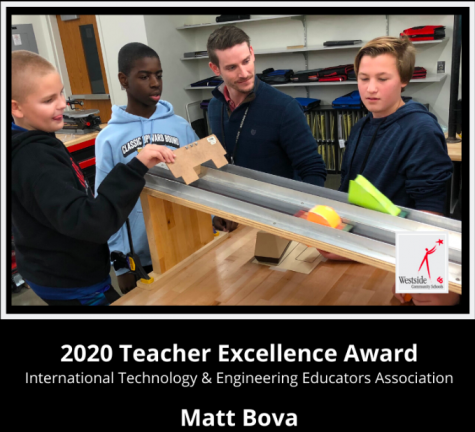 Bova Honored for Innovative Teaching