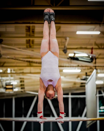 Eighth Grade Gymnast Looks Ahead to 2024 Olympics